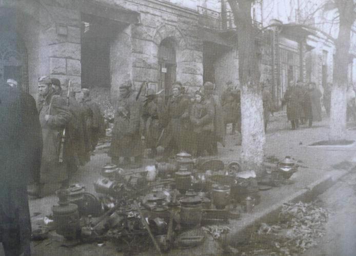 Солдаты в Киеве